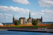 stock photo of hamlet  - Kronborg - a Castle of Hamlet in Helsingoer Denmark