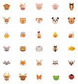 Animals icon set. Part 1