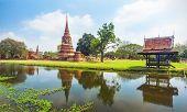 wat chao prap, Ayutthaya, Thailand