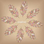 Doily round lace pattern