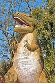 Tyrannosaur In Nandankanan Zoo