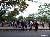 Thomas Square Hpd Police Raid On Deoccupy Honolulu Encampment