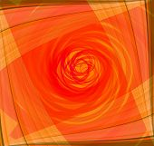 picture of twist  - Twist Abstract orange background Twist Abstract orange background - JPG