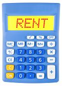 Calculator With Rent