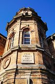 Old library building, Lichfield.