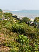 Studland coast and bay Dorset England UK located between Swanage and Poole and Bournemouth