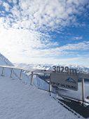 Observation Deck On The Glacier