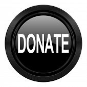 donate black icon
