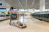 KUALA LUMPUR-APRIL 23: airport interior on April 23, 2014 in Kuala Lumpur, Malaysia. Kuala Lumpur International Airport (KLIA) is Malaysia's main international airport.