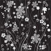 Floral Vector Background Seven