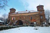 Toszek castle in Poland