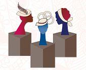 Hat display Fashion