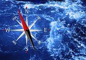 Sea And Compass