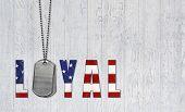 loyal military dog tags