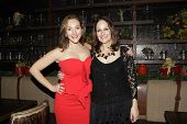 LOS ANGELES - DEC11: Adriana McPhee, Peisha McPhee at SPARKLE: An All-Star Holiday Concert to benefit The Actors Fund at Rockwell Table & Stage on December 11, 2014 in Los Angeles, California