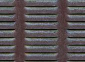 seamless metallic ventilation grille texture background