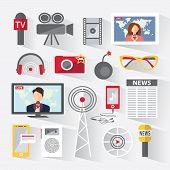 Set Of Icons Telecommunications