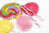 Several Sweet Lollipops