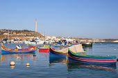 Marsaxlook Bay of Malta