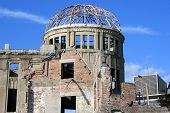 second world war ruins of Hiroshima