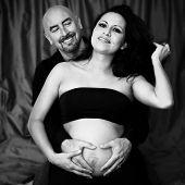 Gorgeous Pregnant Couple