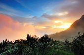 Mt. Kinabalu Sunset
