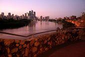Brisbane City from Cliffs