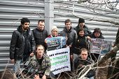 Action Of Ecologists In Support Of Suren Gazaryan