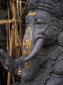 statue of ganesha in Kuta Bali, indonesia