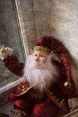 Christmas elf with beard