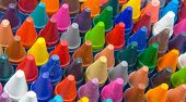 crayons macro image