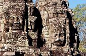 Bayon Temple Faces, Angkor Thom, Cambodia