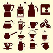 Coffee Icons - Illustration