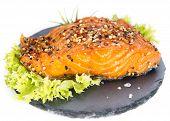 Smoked Salmon (over White)