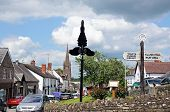 Weobley village centre.