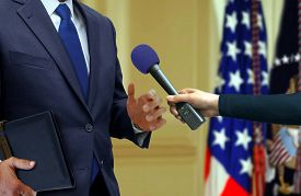 picture of politician  - Image of Exclusive Press Interview with a Politician - JPG