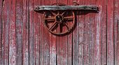 picture of red barn  - Old - JPG