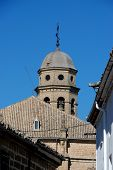 foto of baeza  - Cathedral bell tower  - JPG