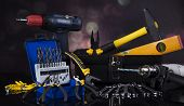 image of triplets  - Construction tools - JPG
