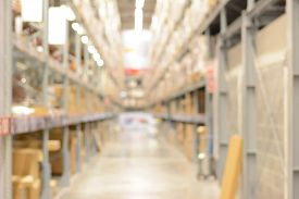 picture of warehouse  - Warehouse or storehouse background - JPG