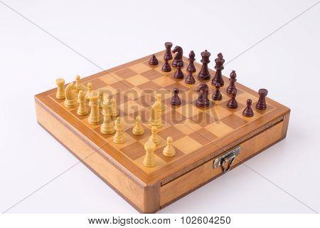 Russian Gambit On Chess Board