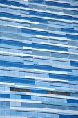Blue building background