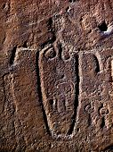 Female Figure Petroglyph