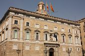Barcelona. Generalitat Palace. Government Of Catalonia.