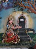 Parvati And Shiva Lingam