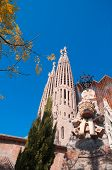 Temple / Church Of The Sagrada Familia, Barcelona