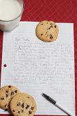 Letter To Santa. Vertical Image