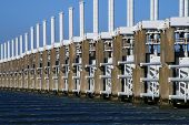 Storm Surge Barrier in Holland ( Zeeland )