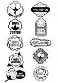 100% Cotton Seals / Marks