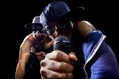 Постер, плакат: Hip Hop Rap Group Concert